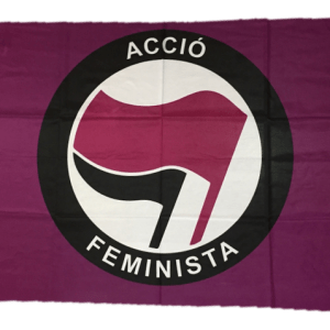 Bandera accio feminista